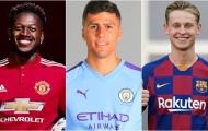 Trước khi mua Rodri, Man City đã bị Man Utd và Barca 'vùi dập tơi tả'