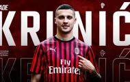 CHÍNH THỨC: AC Milan đón tân binh đến từ đội bóng rớt hạng Serie A