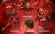 10 số 9 tên tuổi lịch sử AC Milan: 6 QBV, El Nino và Vịt con