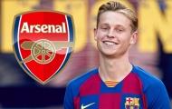 SỐC! 'Bom tấn' Barca 75 triệu euro công khai từng muốn đến Arsenal