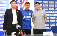 Cựu sao AS Roma hy vọng tìm được niềm vui ở Trung Quốc