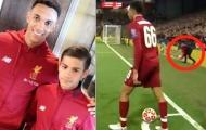 Người hùng Champions League của Liverpool ghi bàn đầu tiên cho đội U18