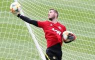 Trang chủ Man Utd dùng từ 'đặc biệt' để mô tả phong độ của De Gea