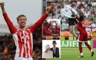 Tạm biệt 'sếu vườn' Peter Crouch - Cầu thủ trăm năm có một ở Premier League