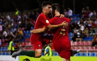 Đàn em Cristiano Ronaldo vùi dập tan nát Azzurrini