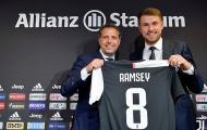 Ramsey nói lời thật lòng trong ngày ra mắt Juventus