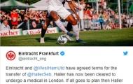 CHÍNH THỨC: Frankfurt xác nhận, chân sút 45 triệu trên đường đến London