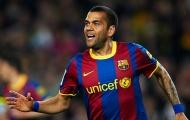 Đâu sẽ là điểm dừng chân cuối trong sự nghiệp Dani Alves?