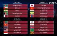 """Bốc thăm vòng loại World Cup 2022: Việt Nam """"nội chiến"""" Đông Nam Á, """"oan gia ngõ hẹp"""""""