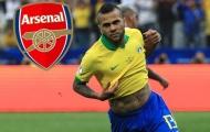 Dani Alves cập bến Emirates: Cú 'áp phe' ngoạn mục của Emery