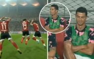 Đây, phản ứng của Ronaldo khi bị đối thủ 'đạo' pha ăn mừng