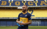 Mới đến Boca Juniors, De Rossi đã khiến fan trầm trồ