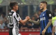 """Paulo Dybala và Man Utd giúp Napoli mua """"người thừa"""" của Inter Milan"""