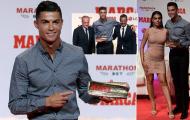 Ronaldo rạng rỡ trong ngày được vinh danh huyền thoại