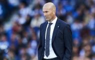 Trụ cột số 1 chấn thương, 'ác mộng' lại đến với Zinedine Zidane