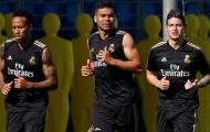 Video Casemiro, James Rodriguez và Eder Militao trở lại tập luyện ở Real Madrid