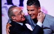 Video Ronaldo tái ngộ chủ tịch Perez ở Madrid