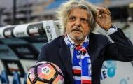 """Chán bóng đá, """"Chủ tịch điên"""" bán Sampdoria với giá rẻ không ngờ"""