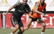 Được Ramos kèm cặp, Hazard đã thon gọn trông thấy
