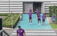 Video Aguero, Jesus trở lại luyện tập cùng Man City