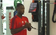 Video Nicolas Pepe tập luyện buổi đầu ở Arsenal