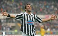 Del Piero và 'lời nguyền' số 10 của Juventus