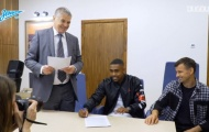 Video Malcom ký hợp đồng ra mắt đội bóng mới