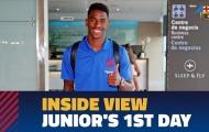 Video ngày đầu của Junior Firpo tại Barcelona