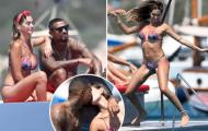 Cựu sao AC Milan rạng rỡ với cô vợ Melissa Satta 'bốc lửa'