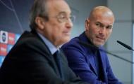 Mất sao số 1 của M.U, Zidane 'nổi trận lôi đình' với chủ tịch Perez