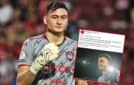 Muangthong Utd gửi tâm thư cho Văn Lâm sau 2 trận giữ trắng lưới