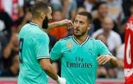 CHÍNH THỨC! Chốt số áo của Eden Hazard tại Real Madrid