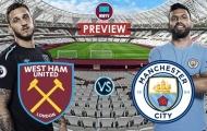 Nhận định West Ham vs Man City: Chiến thắng cách biệt 2 bàn cho đội khách?
