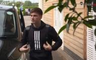 Video ngày đầu của Kieran Tierney ở Arsenal