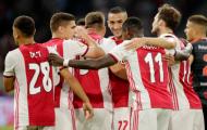 Cựu sao Man Utd đá vị trí lạ, Ajax hủy diệt đối thủ trên sân nhà