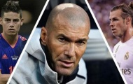 Zidane lên tiếng, tương lai của Gareth Bale và James Rodriguez sáng tỏ?