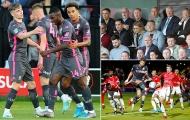 Sao trẻ Arsenal nổ súng, 'Class of 92' của M.U bẽ mặt trước Sir Alex