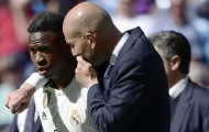 Vinicius lần đầu tiết lộ sự thật về mối quan hệ với HLV Zidane