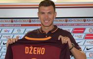Edin Dzeko, sát thủ vừa gia hạn hợp đồng với AS Roma là ai?