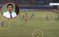 Trưởng ban trọng tài: HAGL đã nhận bàn thua oan tại Gò Đậu