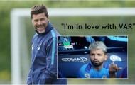 Được VAR 'trợ giúp', Pochettino hả hê trước Man City