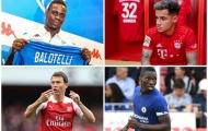 10 bản HĐ hoàn tất tuần qua: Arsenal cáo già, điều khoản lạ Balotelli