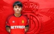 CHÍNH THỨC: Real Madrid cho Mallorca mượn 'Messi Nhật Bản'