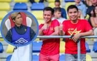 CĐV Việt Nam đến sân nhà Sint-Truiden trong ngày Công Phượng không thi đấu