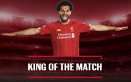 10 'vị vua' vòng 3 Premier League: 79% cho Salah; 'Bom tấn' thống trị!