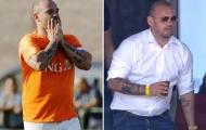 CHOÁNG! Giải nghệ 2 tuần, Sneijder béo ục ịch không ai nhận ra
