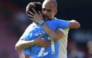 Guardiola cạn lời với 'cột mốc' mới của Aguero - Silva