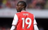 Bị Pepe chiếm suất đá chính, 'nạn nhân' Arsenal phán câu xanh rờn
