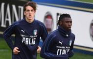 Bộ đôi 'tình nhân' vắng mặt ở đợt tập trung của tuyển Ý