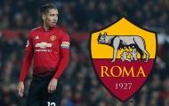Smalling đến Olimpico, AS Roma có hàng phòng ngự Premier League